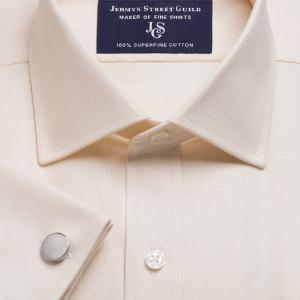 Ivory Royal Oxford Men's Shirt Available in Four Fits