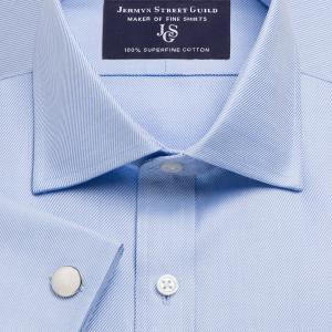Blue Royal Twill Men's Shirt Available in Four Fits
