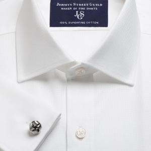 White Royal Oxford Men's Shirt Available in Four Fits