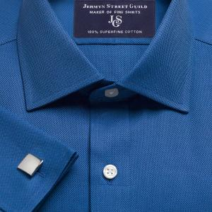 Royal Blue Royal Oxford Men's Shirt Available in Four Fits