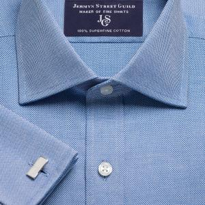 Navy Royal Oxford Men's Shirt Available in Four Fits
