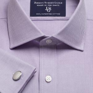 Purple Royal Oxford Men's Shirt Available in Four Fits