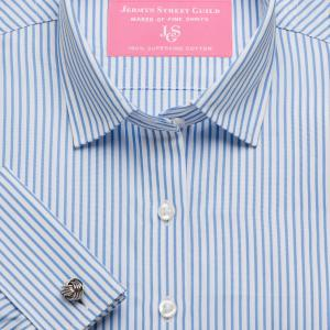 Sky Knightsbridge Stripe Poplin Women's Shirt Available in Six Styles