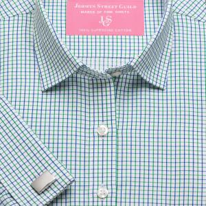 Green Marylebone Check Twill Women's Shirt Available in Six Styles