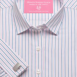 Pink Marylebone Stripe Twill Women's Shirt Available in Six Styles