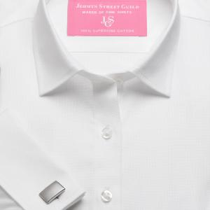 White Royal Oxford Women's Shirt Available in Six Styles