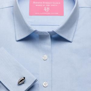 Blue Hyde Park Oxford Women's Shirt Available in Six Styles