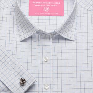 Sky Gloucester Check Twill Women's Shirt Available in Six Styles