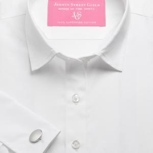 White Plain Poplin Women's Shirt Available in Six Styles