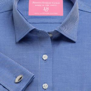 Navy Royal Twill Women's Shirt Available in Six Styles