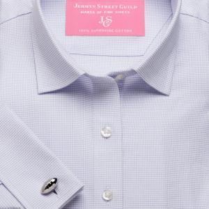 Lilac Birdseye Dobby Women's Shirt Available in Six Styles