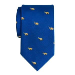 Gold on Royal Elephant Motif Tie