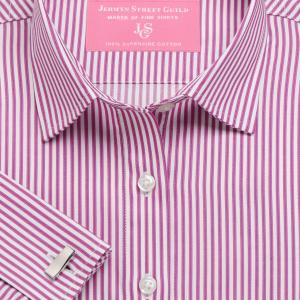 Magenta Chelsea Stripe Twill Women's Shirt Available in Six Styles