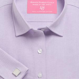 Purple Hyde Park Oxford Women's Shirt Available in Six Styles