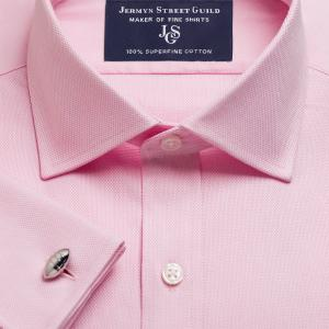 Pink Royal Oxford Men's Shirt Available in Four Fits