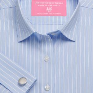 Sky Westminster Stripe Poplin Women's Shirt Available in Six Styles