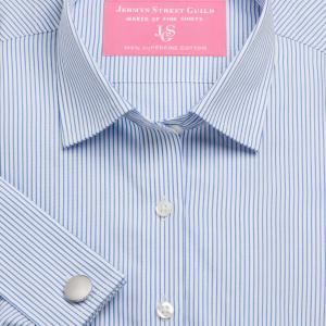 Sky Edinburgh Stripe Poplin Women's Shirt Available in Six Styles