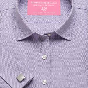 Purple Royal Oxford Women's Shirt Available in Six Styles