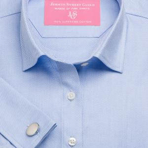 Blue Royal Twill Women's Shirt Available in Six Styles