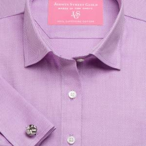Purple Royal Twill Women's Shirt Available in Six Styles