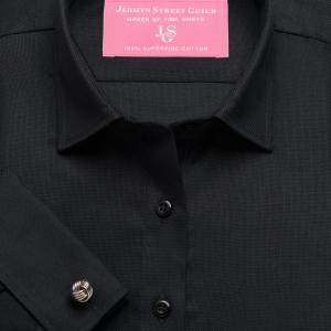 Black Royal Oxford Women's Shirt Available in Six Styles