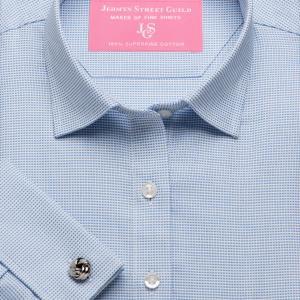 Sky Birdseye Dobby Women's Shirt Available in Six Styles