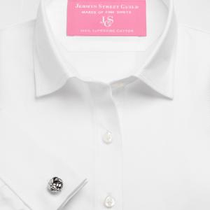 White Royal Twill Women's Shirt Available in Six Styles