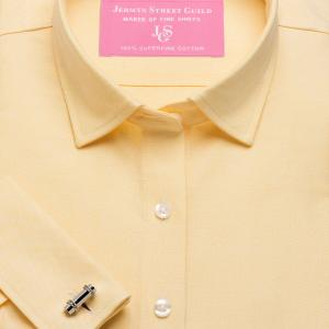Yellow Hyde Park Oxford Women's Shirt Available in Six Styles