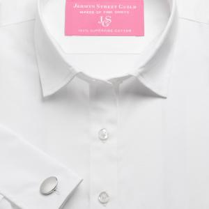 White Plain Poplin Women's Shirt Available in Six Styles