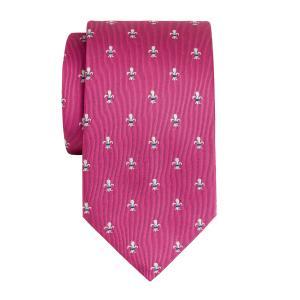 Pink Fleur-de-Lys Tie