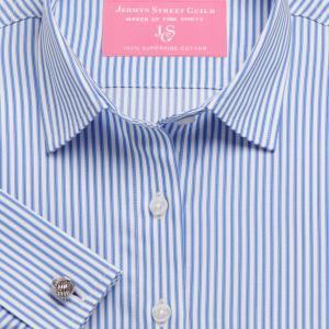 Sky Chelsea Stripe Twill Women's Shirt Available in Six Styles